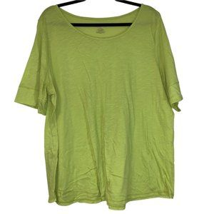 Est. 1946 Light Green Short Sleeve Top Sz: 18/20W